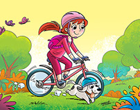 Children's illustrations / children's magazine CPB