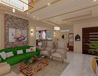 New Classic Reception design | Interior Design
