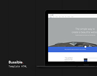 Bussible: Corporate, Finance, Startup HTML Template