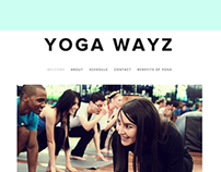Yoga Wayz Web Design
