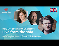 Adobe Live from the sofa UK with Will Paterson