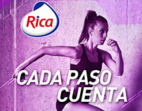 "RICA ""Cada paso cuenta"""