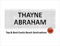 Best Exotic Beach Destinations Covered by Thayne