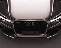 Audi RS7 Sportback performance (2016) Studio shoots