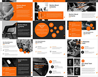 Best Project introduction PowerPoint template