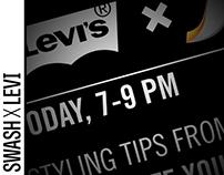 Levi X Swash Event: SoHo Store [DeVries Global]