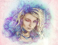 Photo Manipulation ( Water Color Effect)