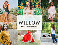 Free Willow Mobile & Desktop Lightroom Presets