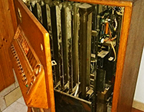 MÁQUINA DE TABACO ANTIGUA / ANTIQUE TOBACCO MACHINE