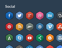 Hexagonal Icons
