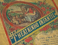 Book Restoration - 1926 Theatrinho Infantil