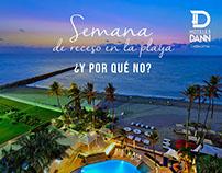 Campaña digital Hoteles Dann ImageiD