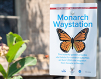 Gibraltar Island Monarch Waystation