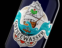 Karls Ostseewasser Liquor - Label Design