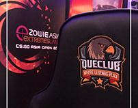 QUECLUB Social Media Designs