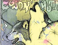 Bongripper / Conan / Humanfly - Gig Poster Illustration
