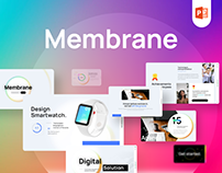Membrane Creative PowerPoint Template Fully Animated