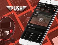 PUSH iOS App
