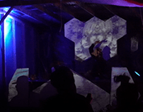 Stage Design and Projection Mapping at Praxis Festival