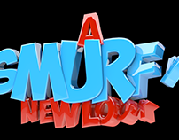 Smurfy Title Cards