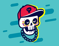 Dia de Muertos - Mexican Day of the dead illustration