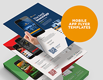 Mobile App Flyer Template Vol.01