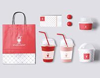 Branding | Logo+ Identity for Alfanoos Juicery