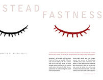 Steadfastness Magazine Spreads