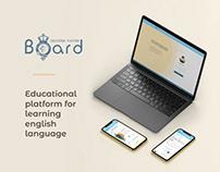 Ui & Ux design for language educational platform