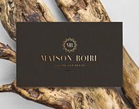 MAISON BOIRE Restaurant - branding