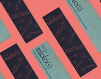 Feira Miolo(s) 2016 - Materiais de comunicação