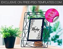 FREE FRAME MOCK-UP IN PSD