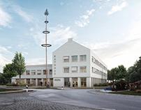 Town hall Berg