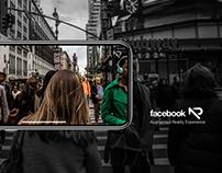 Facebook App AR Concept Design