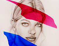 Color paper-Sketch