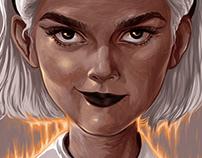 Chilling adventures of Sabrina season 2 Portrait-poster