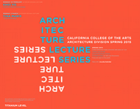 Architecture Lecture Series Spring 2015
