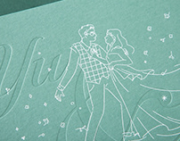 "The Show of Love ""Yu&Mi"" Wedding Invitation"