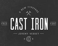 Cast Iron (Free Typeface)