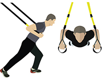 Workout with TRX
