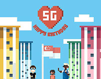 Singapore Turns 49 (Social Campaign)