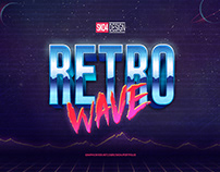 80s Text Effects - 10 Mockups