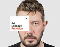 Art.Lebedev Redesign