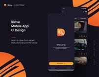 iDrive | Car Driving | Mobile App UI Kit