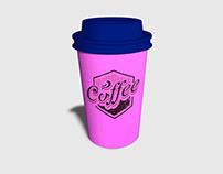 Free Photo-Realistic Coffee Cup Mockup