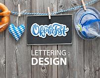 Oktoberfest Lettering Design