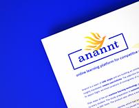 Anannt : Brand Identity & Website design
