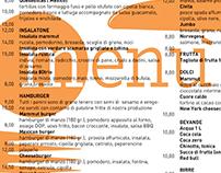 Tovaglietta / Menù