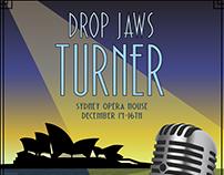 Drop Jaws Turner concert flyer