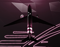 Qatar Airways Infographic Reel